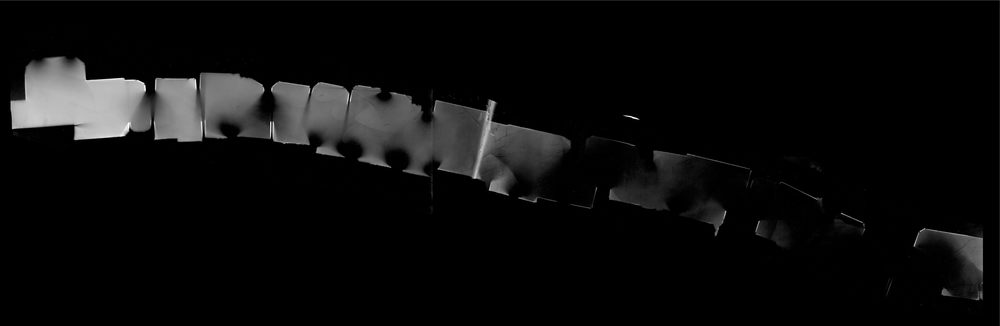Photogram constructed in the Rhythm-instrument