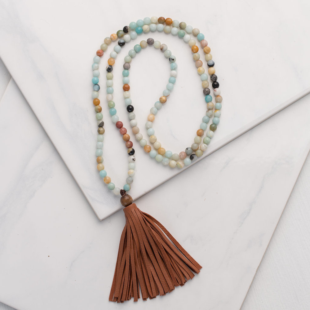 In Search of Self Tassel Necklace