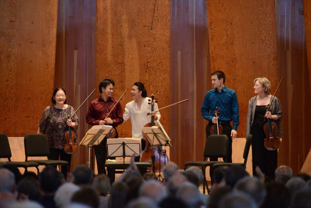 Marlboro Festival  ||  Beethoven String Quintet with Nikki Chooi, Hiroko Yajima, Sally Chisholm, and Daniel Lee (2013)