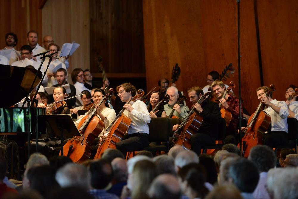 Marlboro Festival  ||  Beethoven Choral Fantasy with pianist Richard Goode and conductor David Zinman (2013)