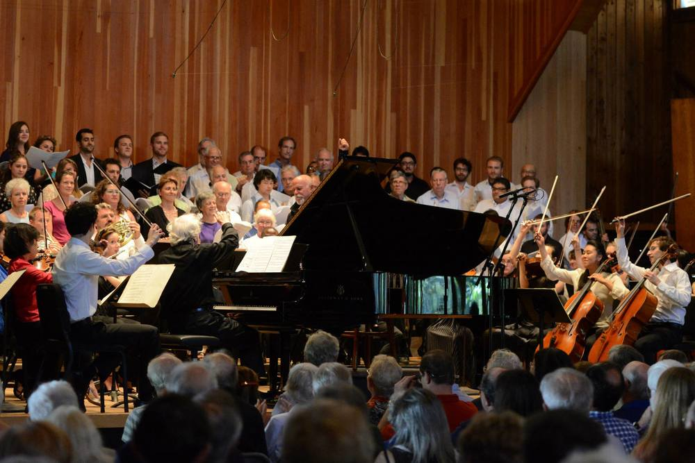Marlboro Festival  ||  Beethoven Choral Fantasy with pianist Richard Goode and conductor David Zinman (2013)
