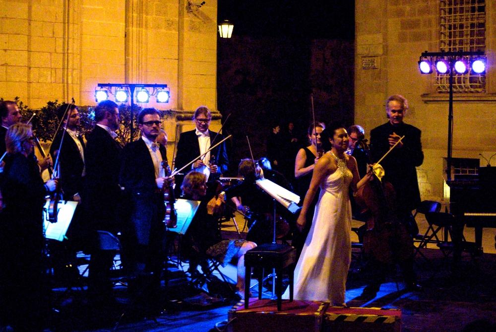 Trapani, Malta with Augustin Dumay and Sinfonia Varsovia of Poland (2013)