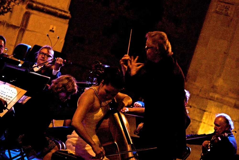 Trapani, Malta with Augustin Dumay and Sinfonia Varsovia of Poland (2013)