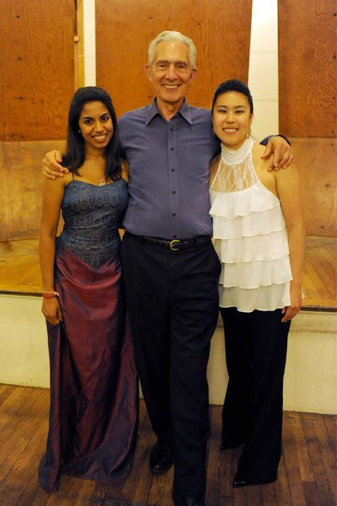 Marlboro Festival  ||  Mozart Piano Trio with Arnold Steinhardt of the Guarneri String Quartet and pianist Pallavi Mahdihara (2012)