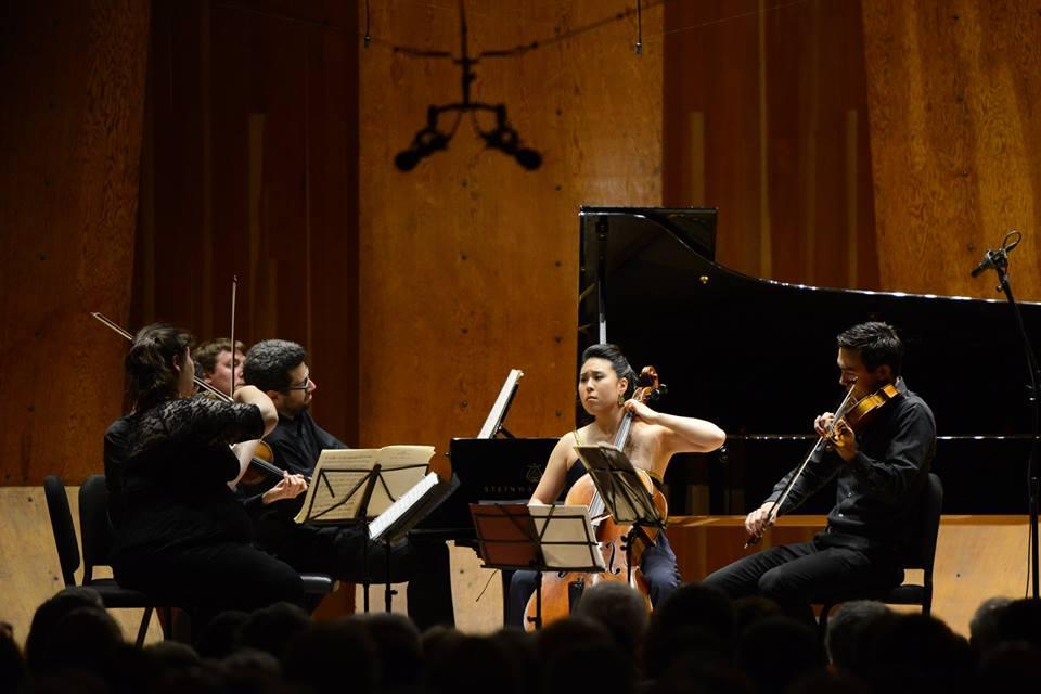 Marlboro Festival  ||  Dvorak Piano Quintet in A Major with Jonathan Biss, Elizabeth Fayette, Itamar Zorman, Daniel Kim, and Deborah Pae (2014)