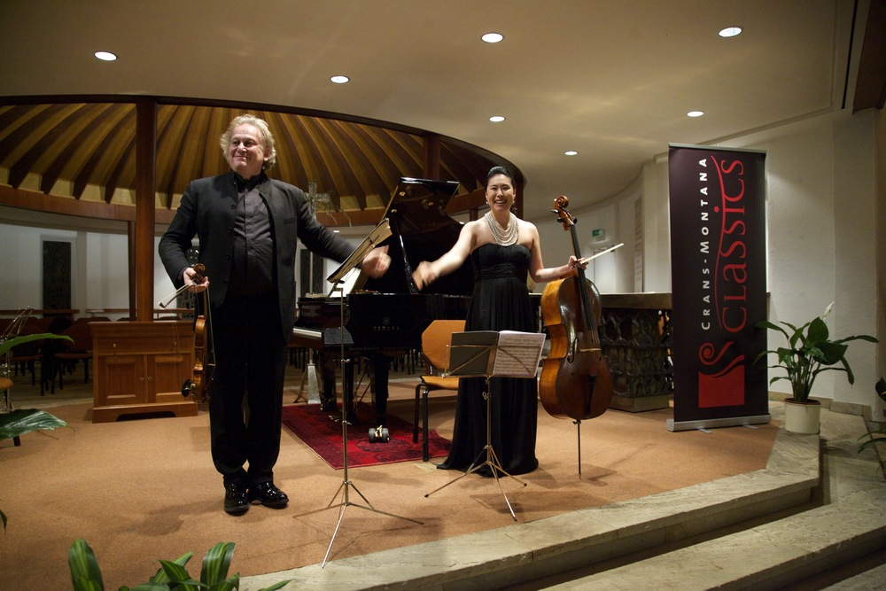 Crans-Montana Classics (2015): Michael Guttman and Deborah Pae