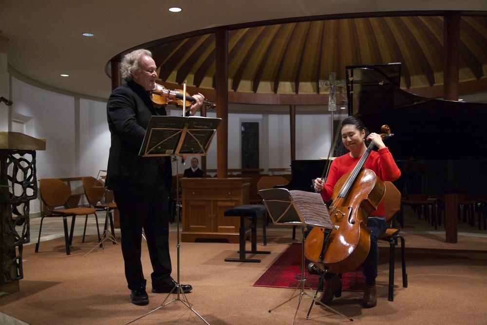 Crans-Montana Classics (2015): Violinist Michael Guttman and Deborah Pae
