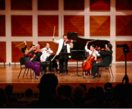 The Formosa Quartet performing Chausson Concerto with incredible musicians Cho-Liang Lin and Orion Weiss at NYO Canada