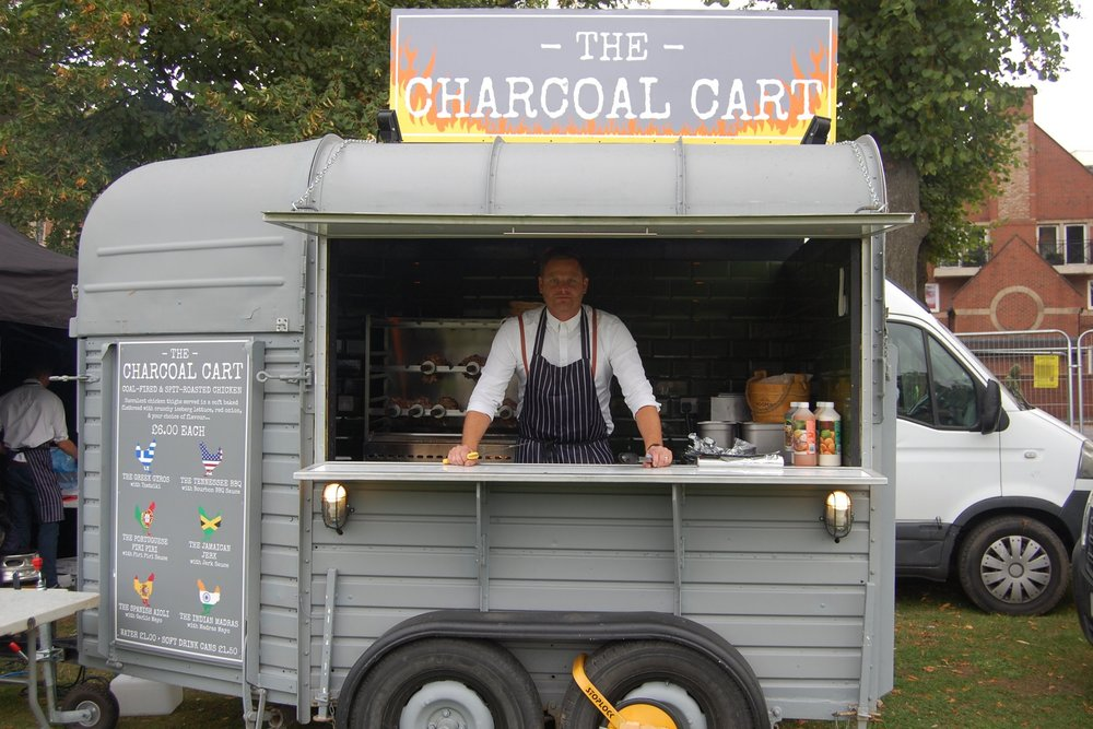 THE CHARCOAL CART -