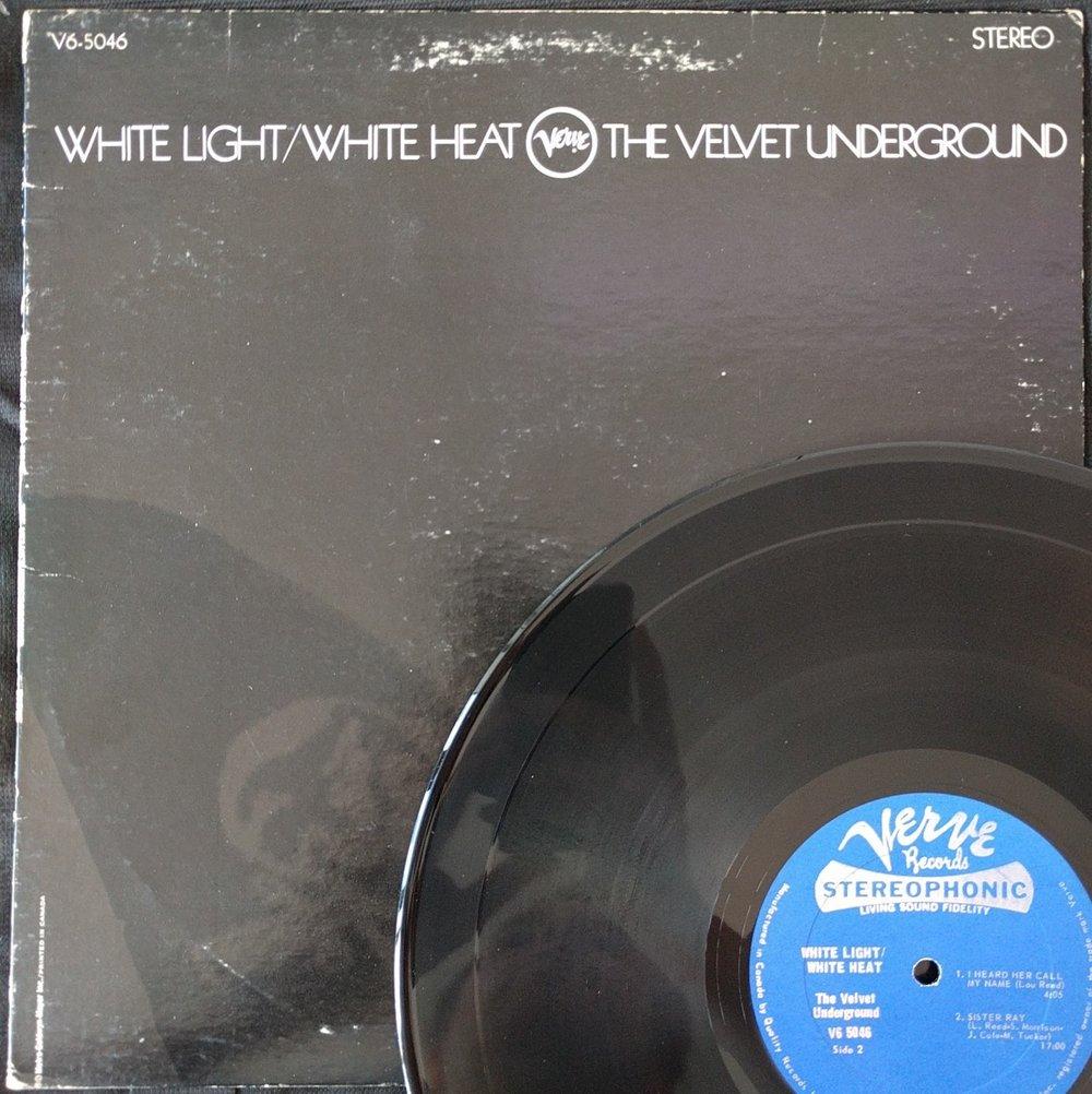 Velvet Underground - White Light / White Heat   Original Canadian press with skull cover
