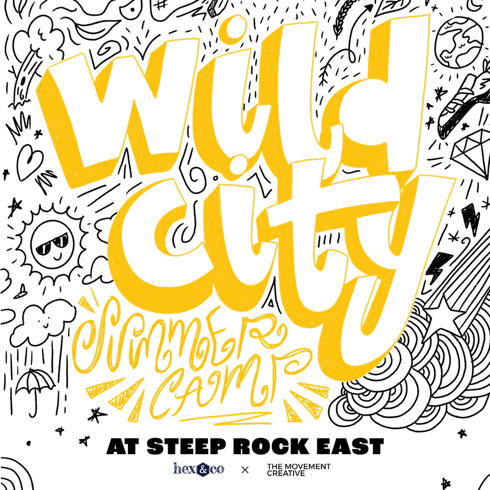 WILD CITY — at Steep Rock East - Ages 6 to 12 — Bouldering, Parkour + Outdoor ExplorationA full week of adventure from 9 to 3 pm @ East, offered June 10 to September 6. Price is $750 a week per camper, with $150 add on for extended daycare until 5 pm. Save $100/camper when booking siblings or multiple weeks.Get ready for a week of bouldering fun and outdoor exploration! In addition to climbing at Steep Rock East, campers will get the opportunity to boulder in Central Park and learn parkour with Movement Creative. Campers will also practice environmental stewardship and Leave No Trace.Special Camp Program with Movement CreativeWe will be offering a unique 2 week, full day program with Movement Creative — registration opening soon!