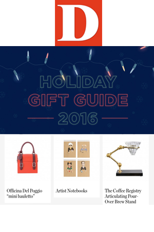 The ODP Mini Bauletto featured in the DMagazine Holiday Gift Guide