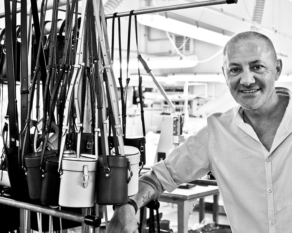 - Founded in 1995, this company has grown rapidly, moving to two different locations in the past 5 years, and now have a team of close to three dozen employees, half of whom have been with the company for over a decade. The owner honed his skills as a pattern and prototype maker at other luxury leather goods factories, now becoming a unique example of a craftsman-turned-entrepreneur (and a successful one at that!). As an avid motorcyclist, he has an added appreciation for the ODP bags and the inspiration behind their design.