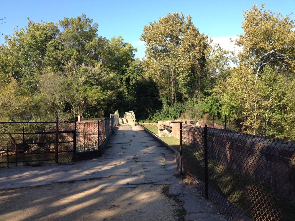 Bridge over Seneca Creek Aquaduct
