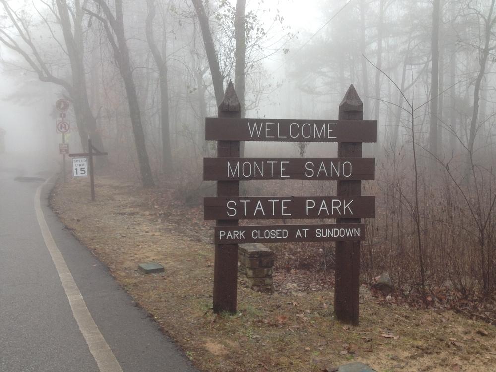 Monte Sano State Park entrance off of Nolan Dr.