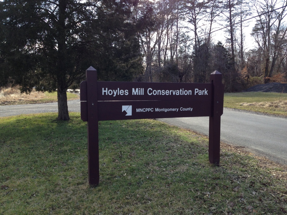 Hoyles Mill Trail parking lot off of White Ground Rd.