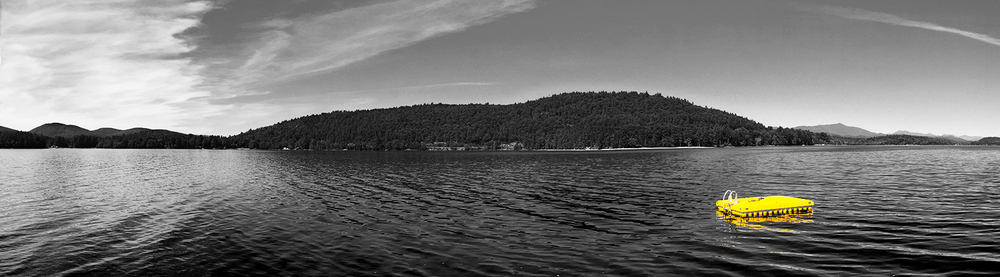 // Schroon Lake, from a segment of the race course