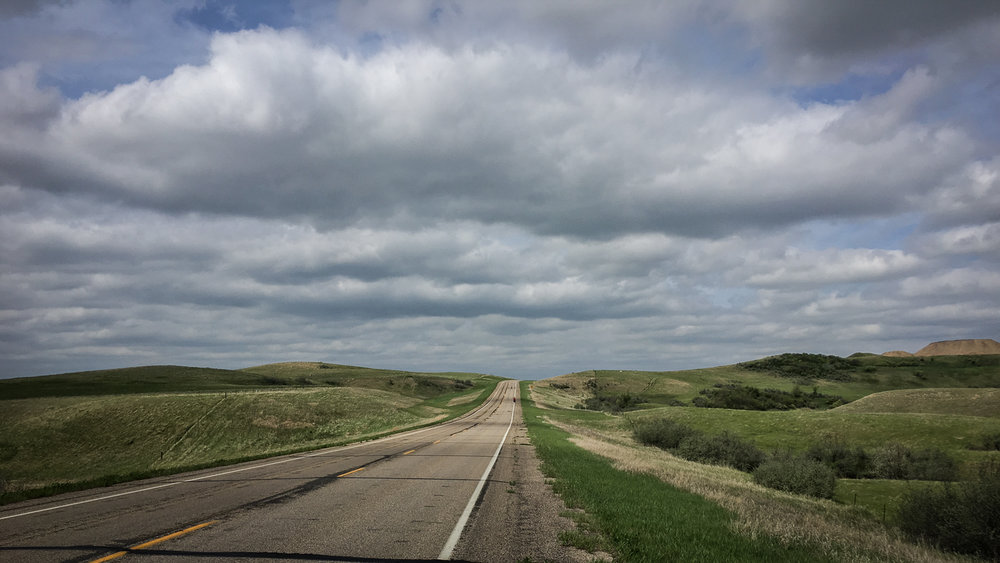 // Rolling Hills of Western North Dakota