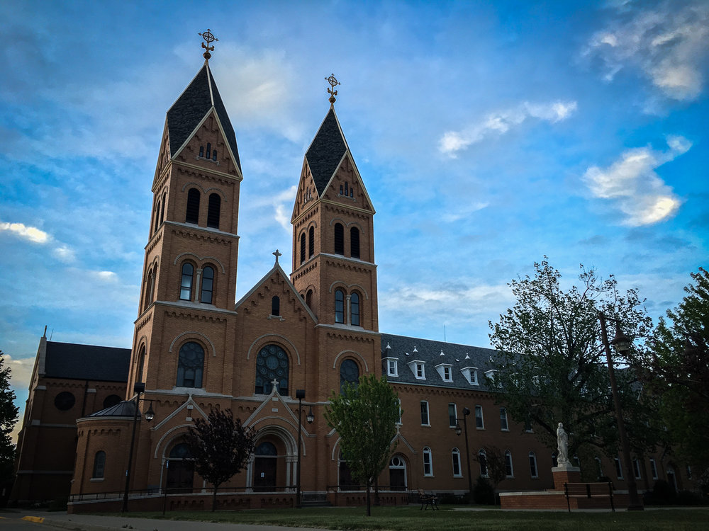 // Assumption Abbey in Richardton, North Dakota