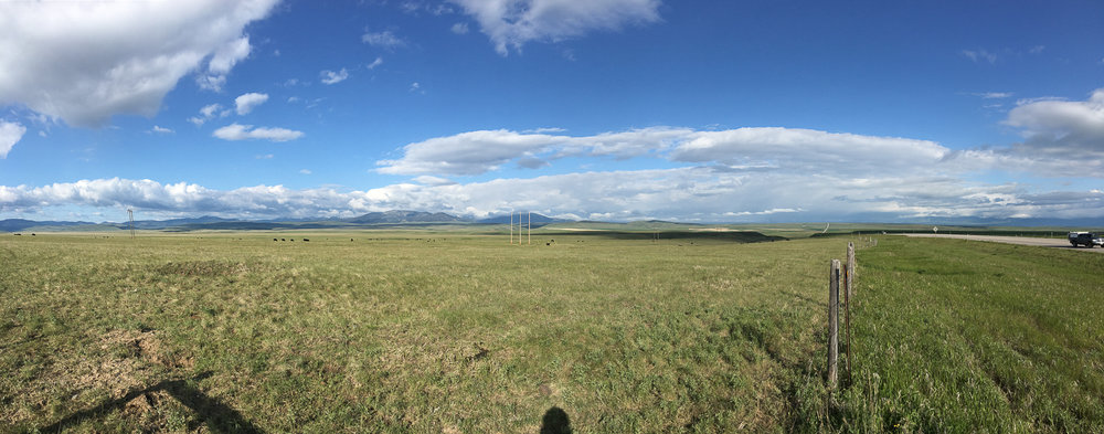 // The Northern Rockies in the Distance