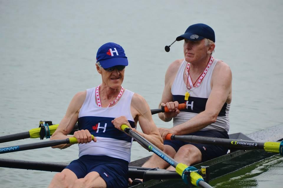 Harry Vanderlugt and John Sherrick, Masters Men H champions at Henley