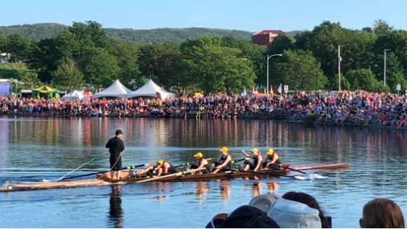 200th Anniversary of the Royal St. John's Regatta, August 1, 2018.  Photo credit: FISA and World Rowing.