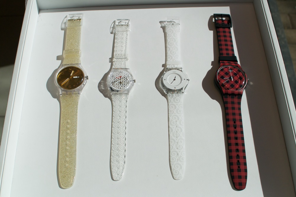 Holiday Watches at Swatch