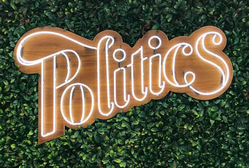 SNEAKER POLITICS