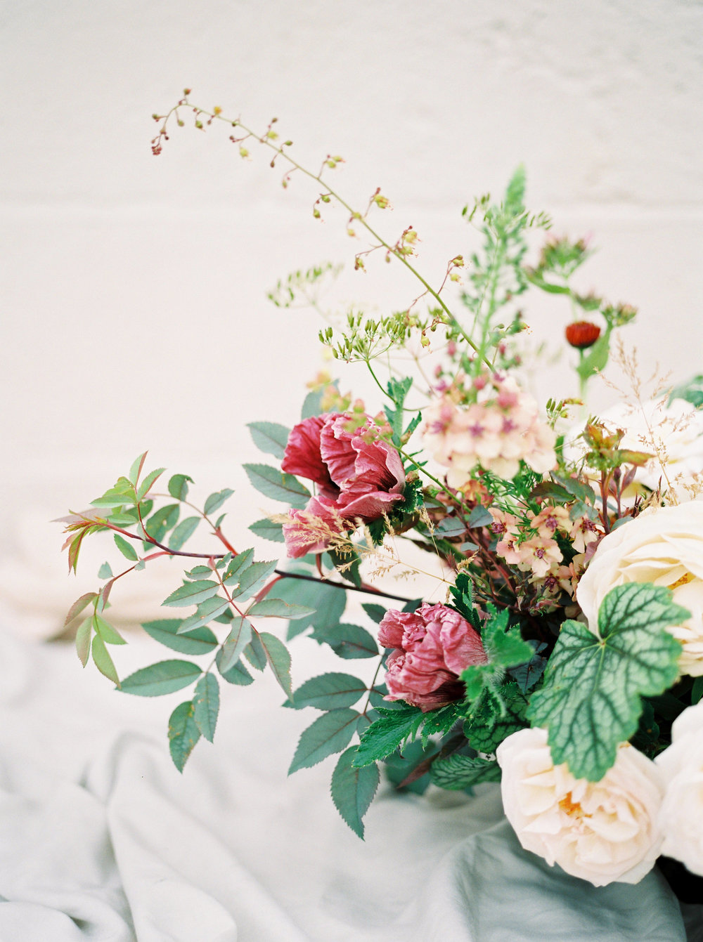 wedding flowers by the garden gate flower company photographed by imogen xiana in oxford