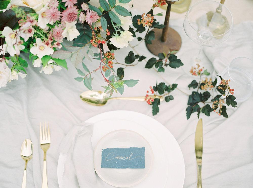 styled wedding shoot for a fine art bride by imogen xiana