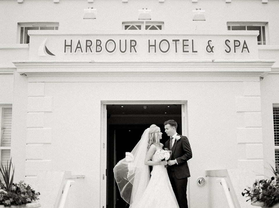 christchurch harbour hotel in dorset wedding