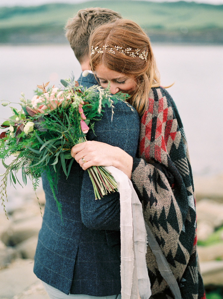 dorset seaside anniversary photo shoot