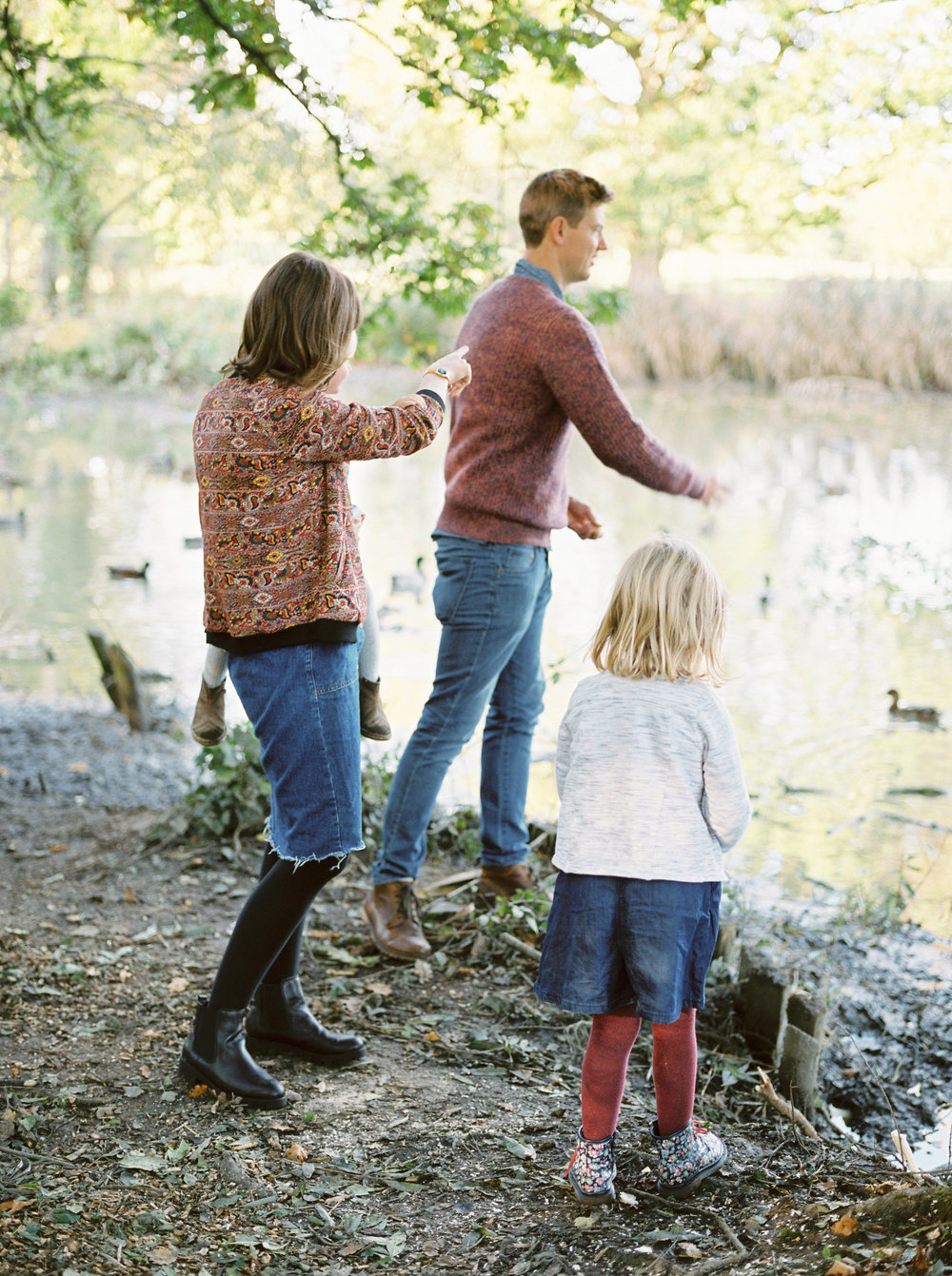 natural and relaxed family photos in dorset
