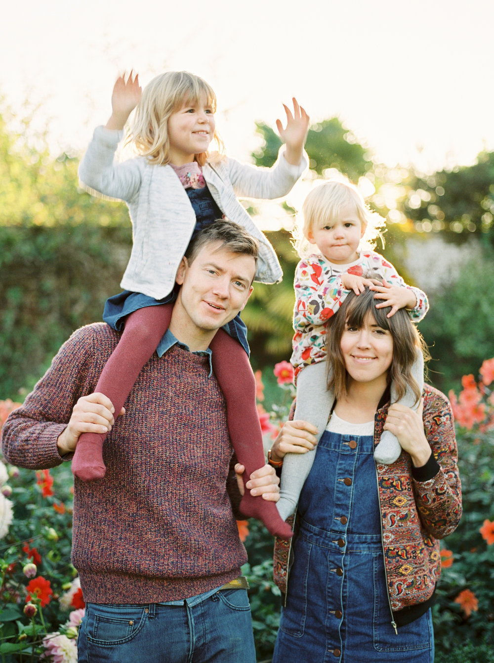 fun family photographer in dorset