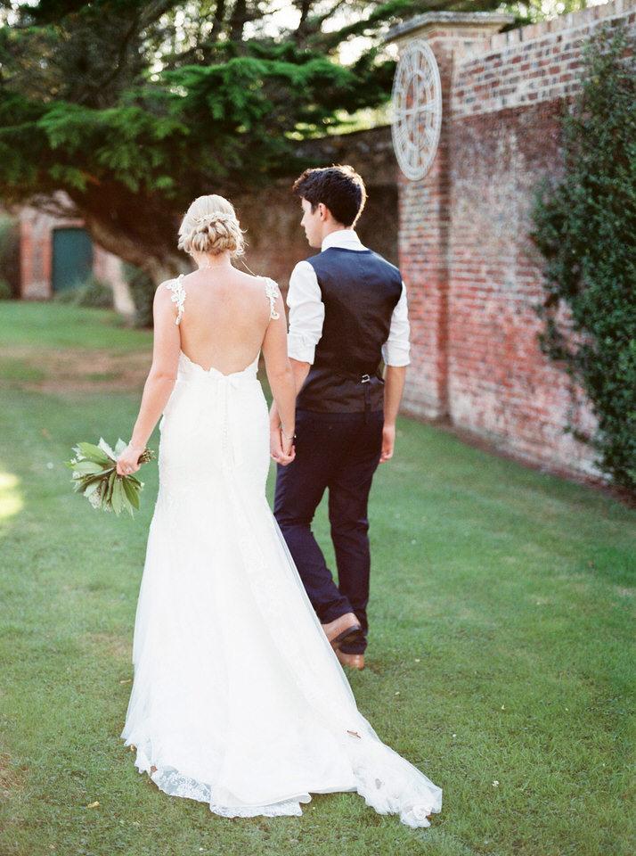 backless lace wedding dress wimborne