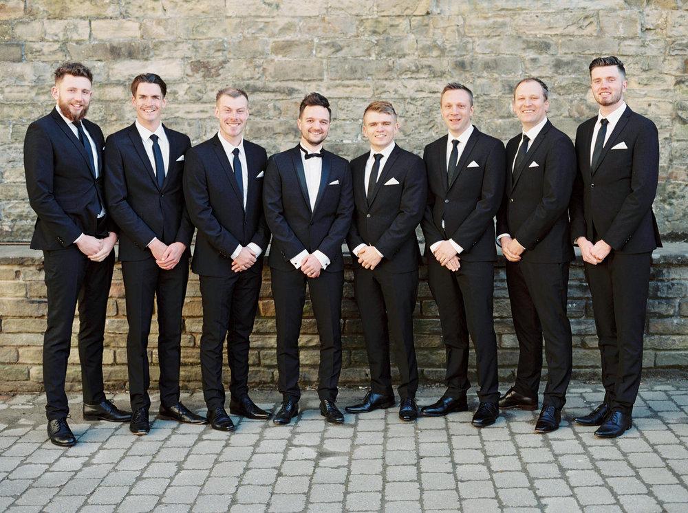black tie wedding in halifax