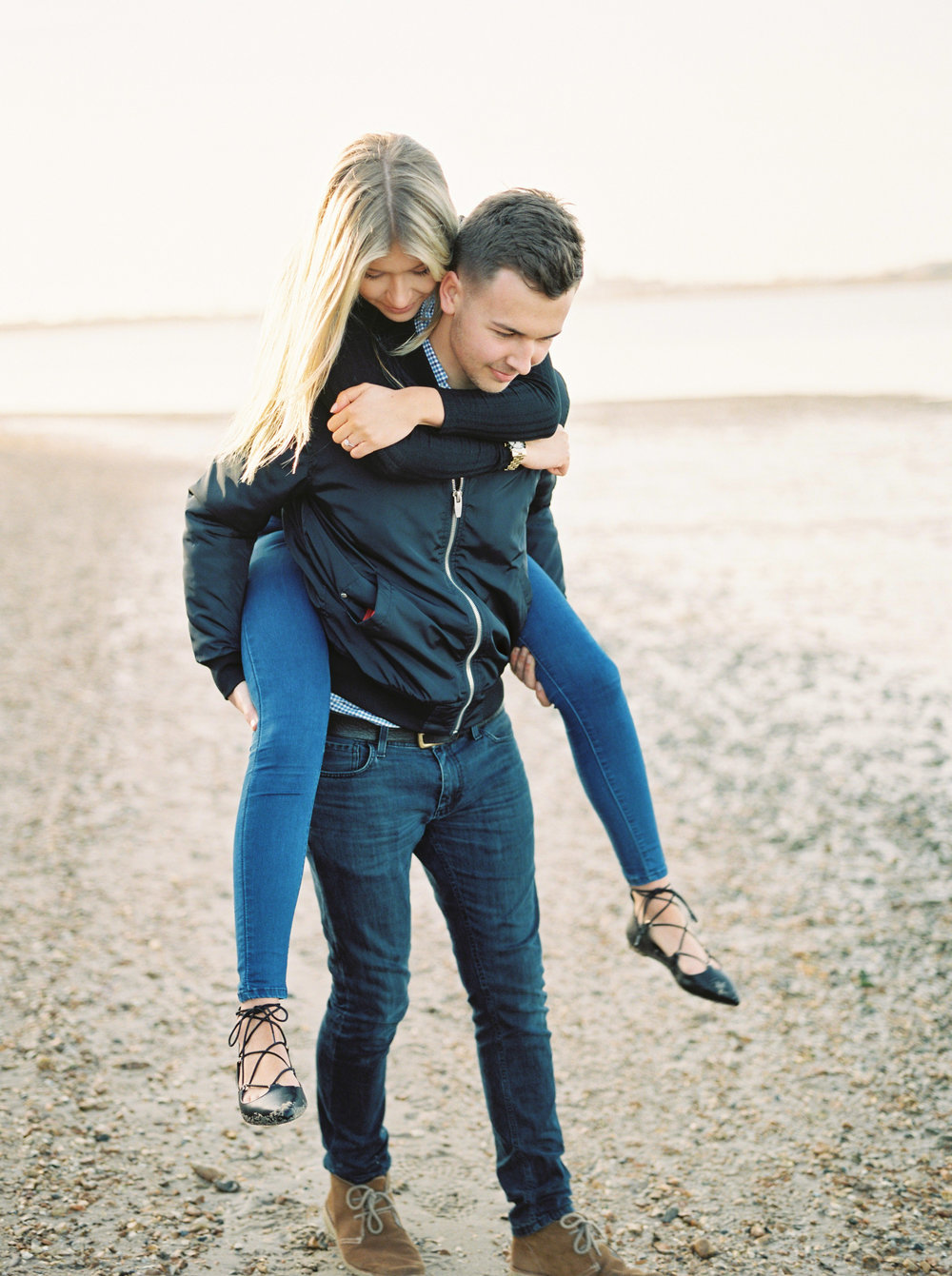 stylish engagement by imogen xiana