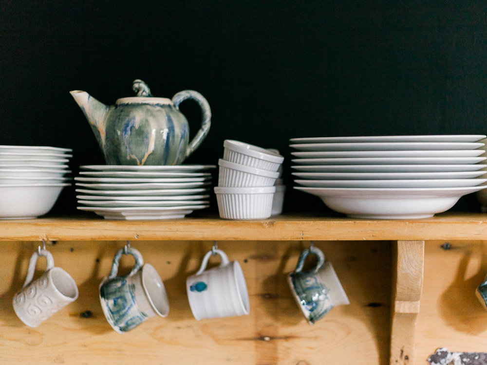 hand made pottery in wimborne photography
