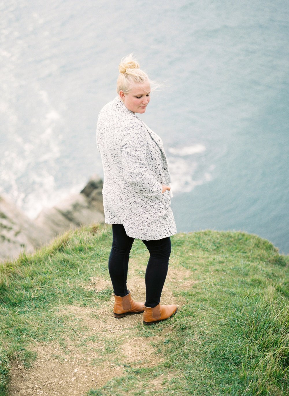 dorset wedding photographer at warbarrow bay