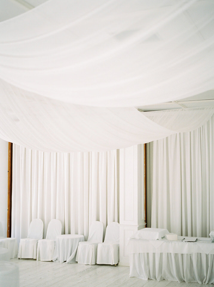 minimal wedding in greece
