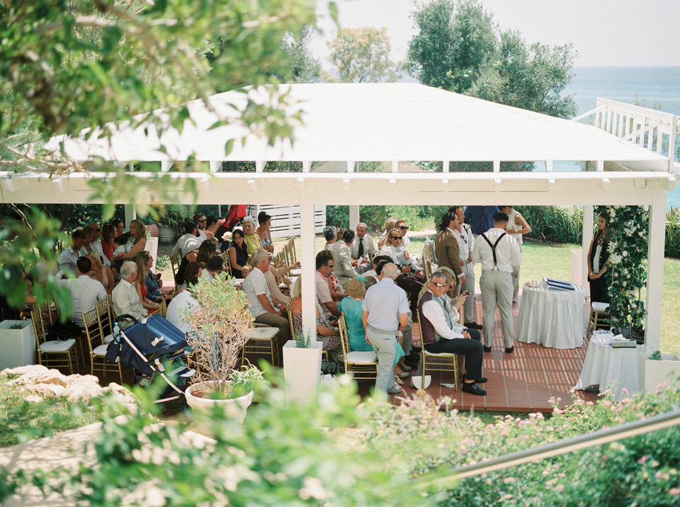 outdoor cyprus wedding