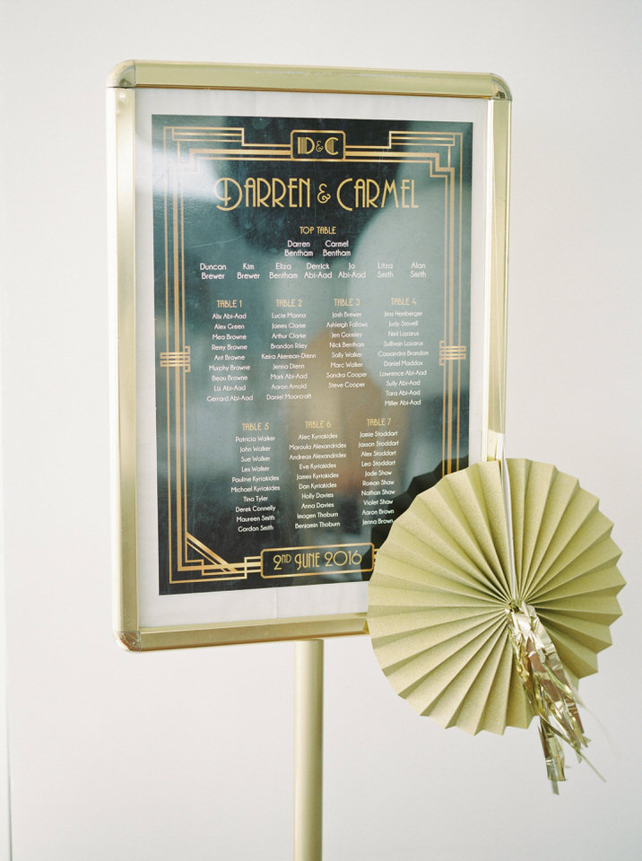 gatsby wedding ideas