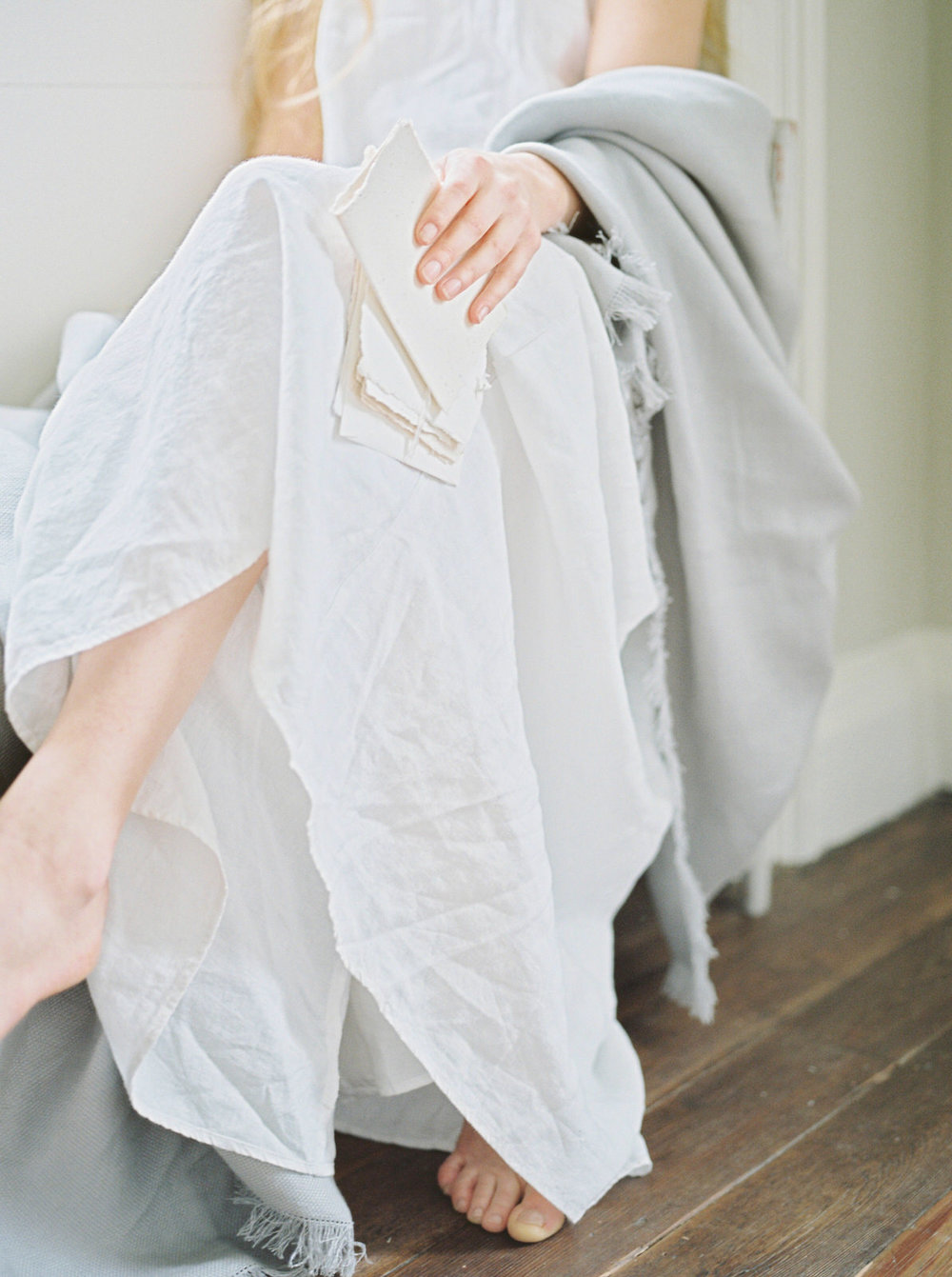 the linen works night gown