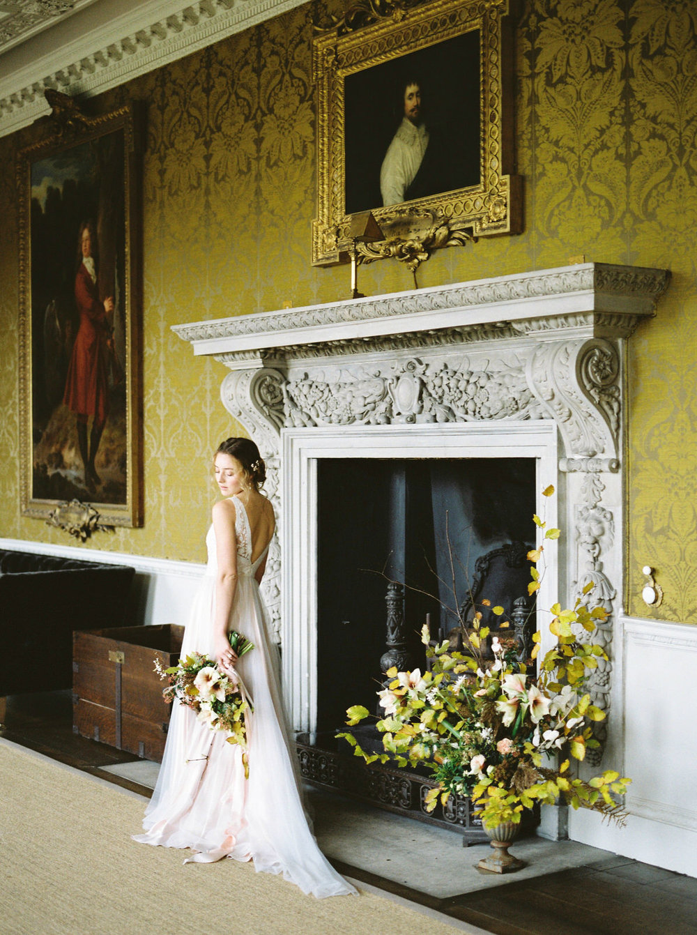 st giles house wedding flowers by imogen xiana