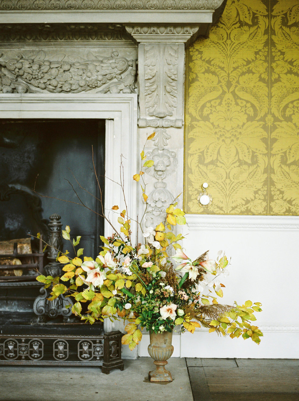 autumn wedding at st giles house