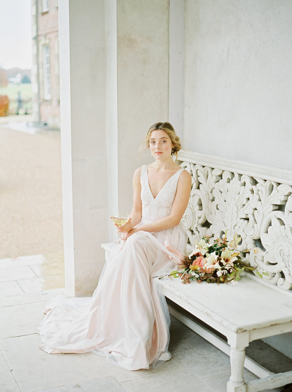 natural bridal portraits by imogen xiana