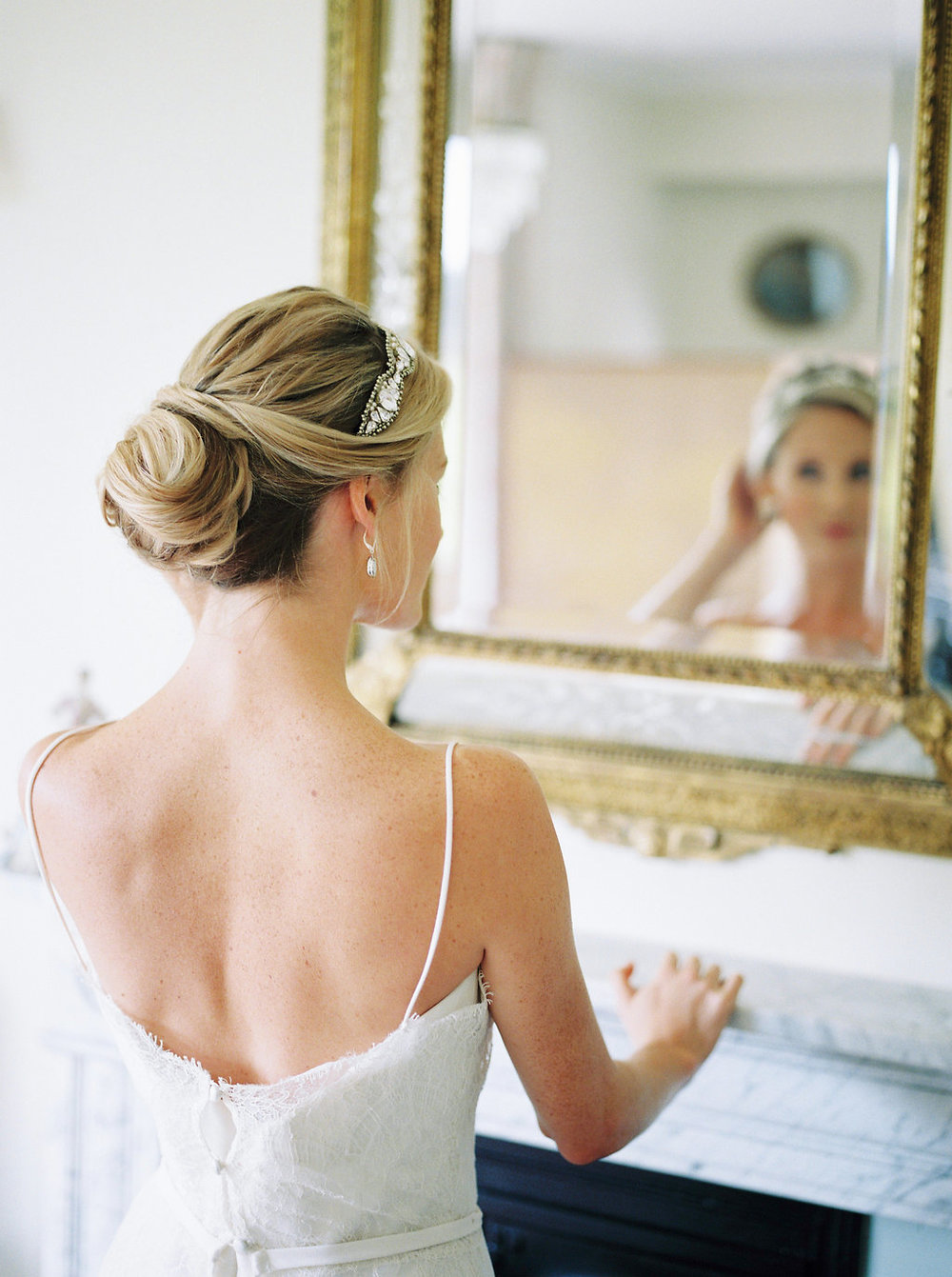 bridal hair by imogen xiana