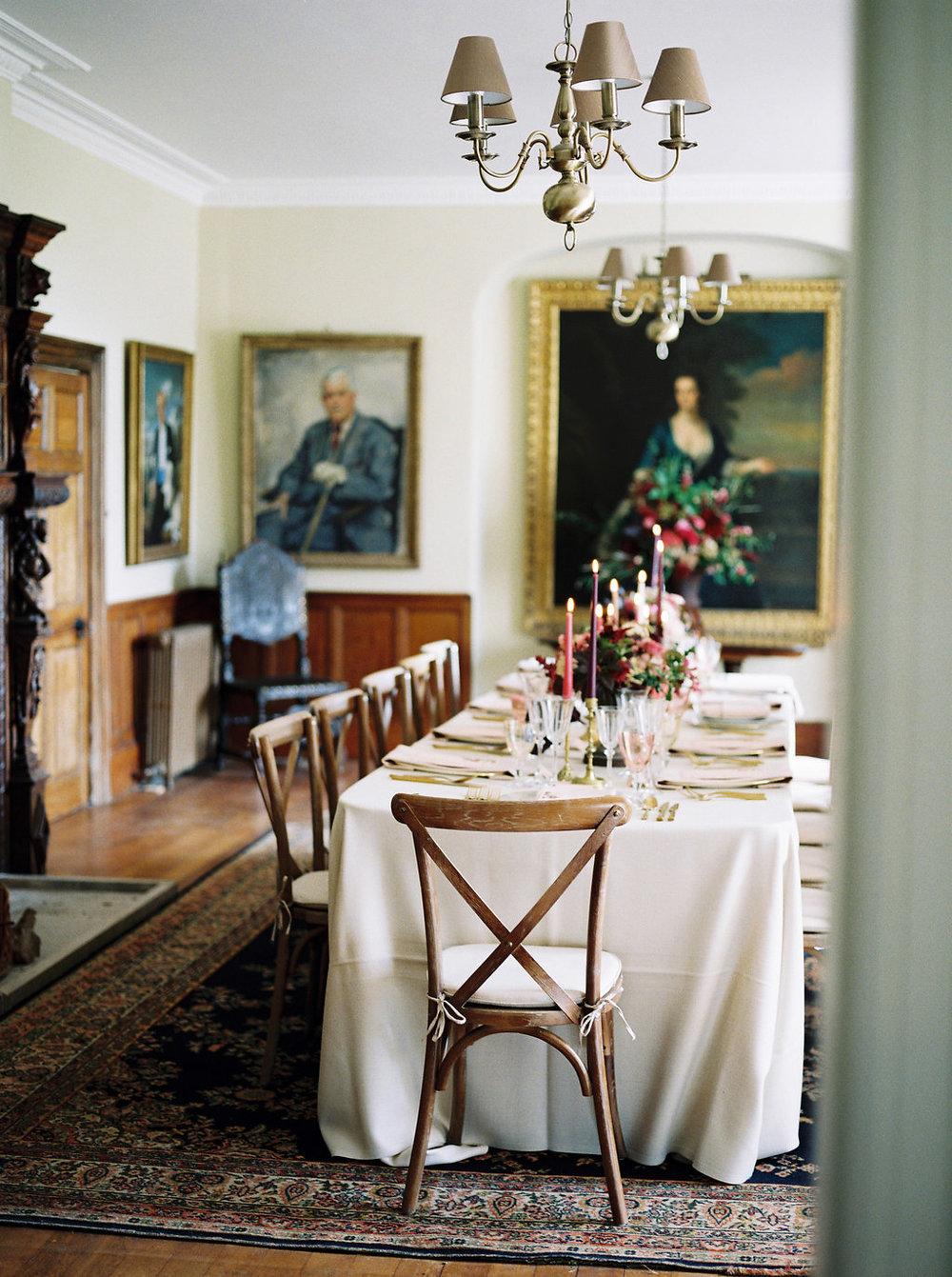english country house wedding
