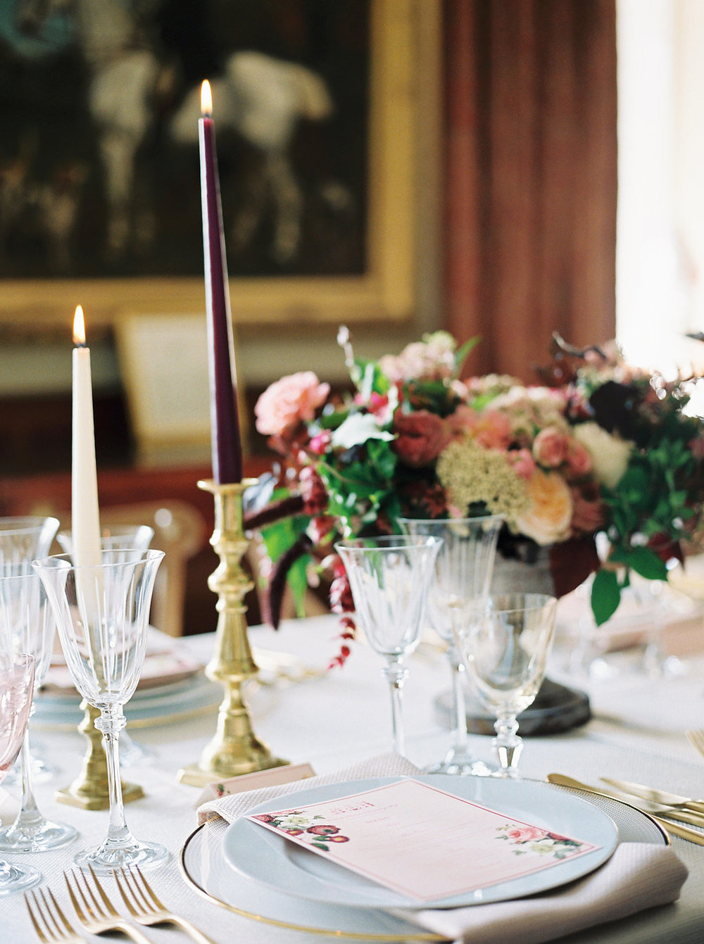 stately home wedding in england