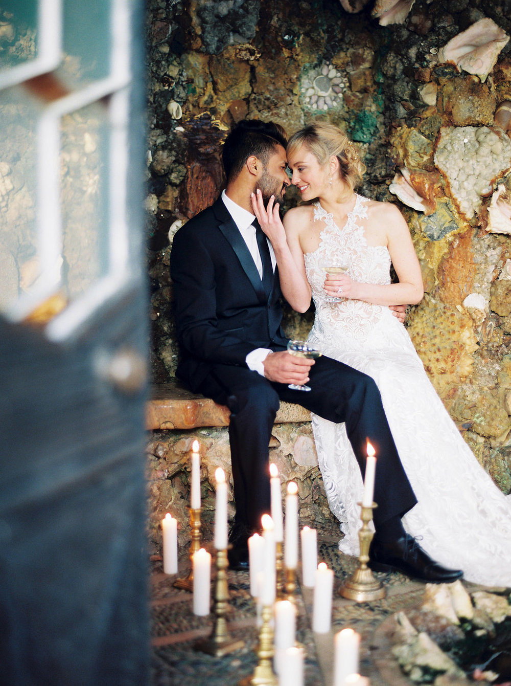 hotel endsleigh grotto wedding